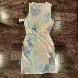 NWT  aritzia  adorable tye dye dress